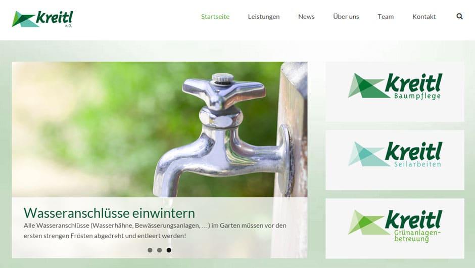 Webdesign für Kreitl. e.U. - Raasdorf