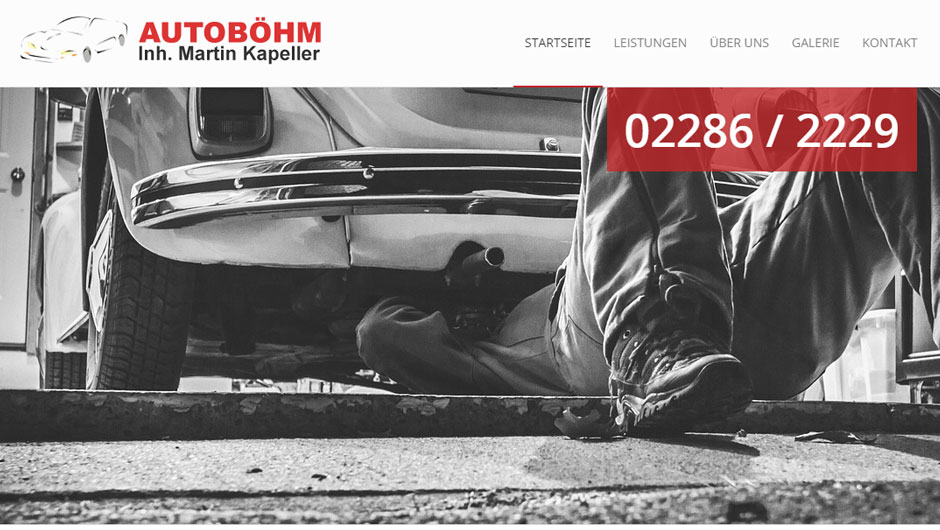 Autoböhm - KFZ Werkstatt Obersiebenbrunn