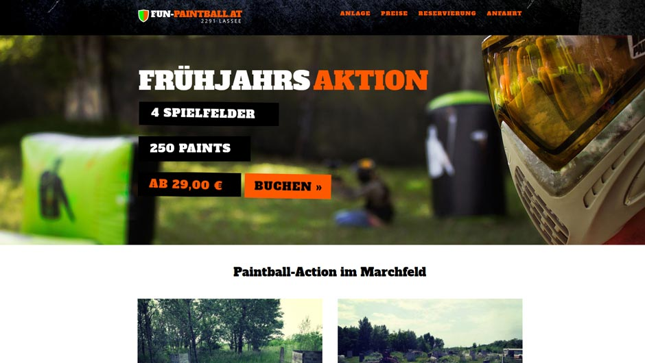 Fun Paintball Lassee bei Nestarter