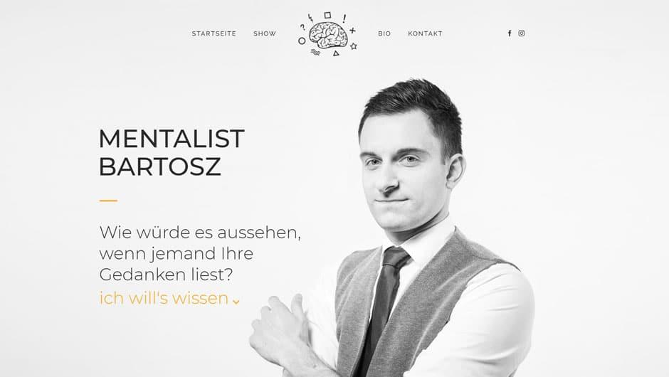 Mentalist Bartosz - nurkopfsache.at - Netstarter Referenz