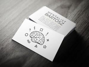 Mentalist Bartosz Visitenkarten von Netstarter
